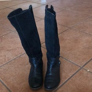 LUCKY BRAND LEATHER BOOTS SIZE 10M